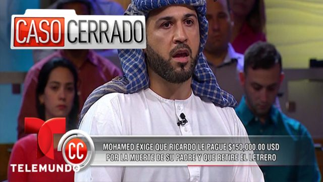 Caso Cerrado   Man Shot In a Muslim Free Zone ☪  Telemundo English